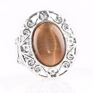 Free with Bundle Moonlit Marigold Brown Ring